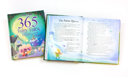365 Fairy Tales, Rhymes, and Other Stories Children's Treasury