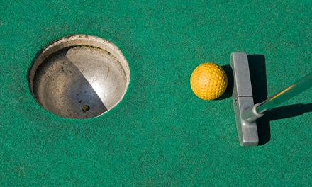 18 Holes of Mini Golf for Two or Four at Sayville Falls Mini Golf (Up to 56% Off)