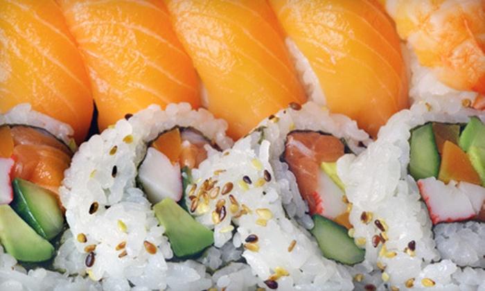 Sakura Sushi - Salt Lake City: Sushi and Japanese Fare at Sakura Sushi (Half Off). Two Options Available.