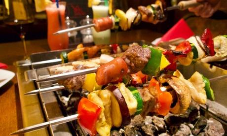 Asiatisches All-You-Can-Eat mit Grillvergnügen am Tisch mit für 2 Personen bei Yaki Indoor BBQ in Stein