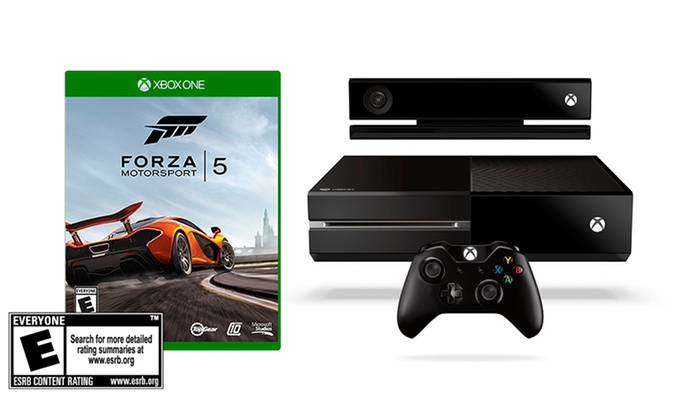 Xbox One with Forza Motorsport 5: Xbox One with Forza Motorsport 5 Digital Game Download