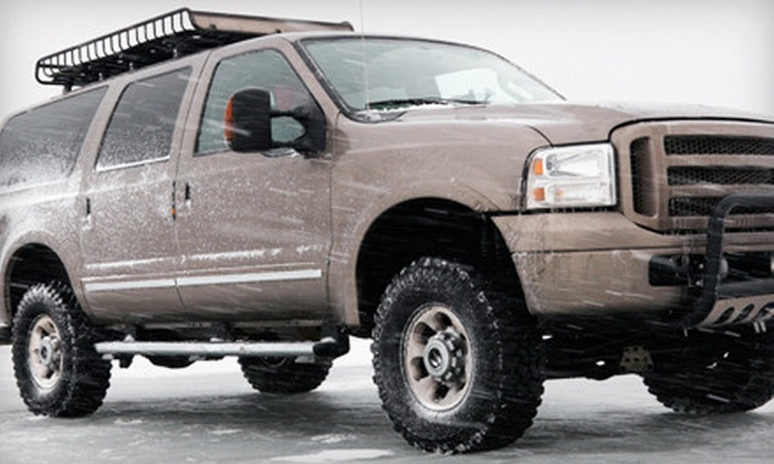 Wired Wash Car Wash & Detailing - Fairfield: $39 for Four Winter Superwashes at Wired Wash Car Wash & Detailing ($84 Value)