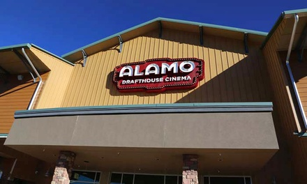 $5 for One Movie Ticket at Alamo Drafthouse Cinema (Up to $10.75 Value)