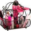 Jeweled Purse Shaped Hair Styling Caddy