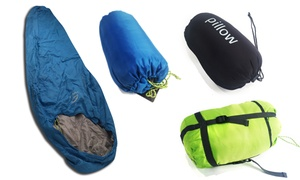 Lightweight Mummy Sleeping Bags and Pillows  at Lightweight Mummy Sleeping Bags and Pillows, plus 9.0% Cash Back from Ebates.