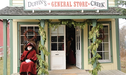 Twin or Family Season Passes to Pickering Museum Village (50% Off)