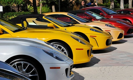 Festivals of Speed Visit for Two, Four, or Six at the Ritz-Carlton Orlando on December 7 (Up to 50% Off)