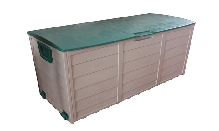 Garden storage box groupon for Groupon giardino