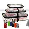 11-Piece Travel Kit with Free TSA Lock
