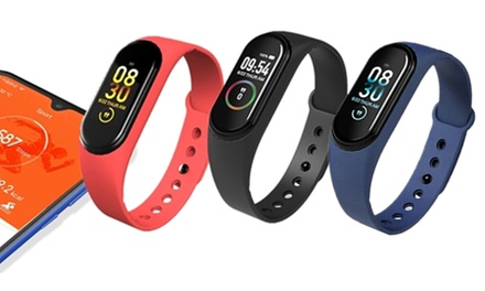 Smart Band Fitness Health Tracker with Heart Rate: One ($19) or Two ($29)