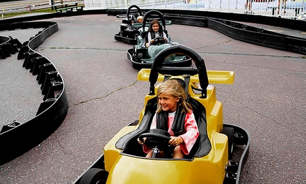 $18 for $30 Worth of Go-Kart Racing at Checkered Flag Raceway