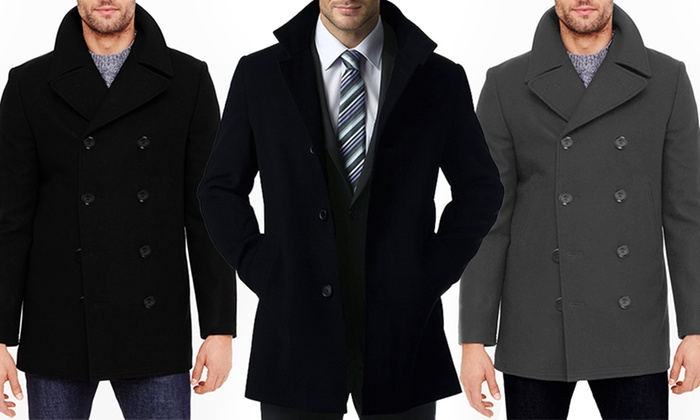 Braveman Wool Blend Coats | Groupon Goods