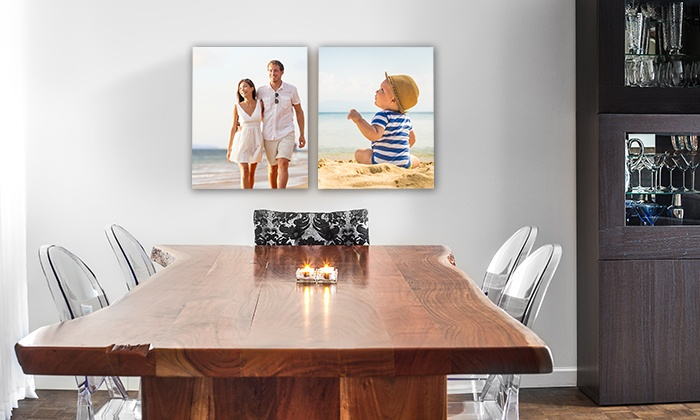 """Canvas People: 8""""x10"""", 11""""x14"""", or 16""""x20"""" Gallery-Wrap Canvas Portrait from Canvas People (Up to 90% Off)"""