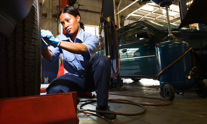 Peterson Auto & Truck - Multiple Locations: Tire Rotation, Wiper Blades, and One or Three Oil Changes and Inspections at Peterson Auto & Truck (Up to 84% Off)
