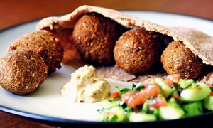 Tasty American CooCoo: Casual Mediterranean Food at Tasty American CooCoo (Up to 43% Off). Three Options Available.