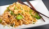 Thai Cuisine Restaurant - Asbury Park: $20 for Two Thai Entrees and One Appetizer at Thai Cuisine Restaurant (Up to $41.85 Value)