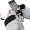 Men's Ragg Wool Gloves with Hand Warmers