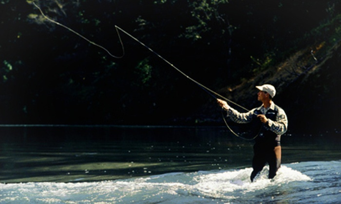 River Through Atlanta - Sope Creek Park: Beginner Fly-Fishing Class for One or Two or Guided Fishing Tour for Two from River Through Atlanta (Up to 72% Off)