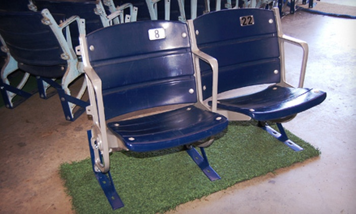 The Cowboy House - The Cowboy House: Texas Stadium Seats With Optional Turf at The Cowboy House in Lake Dallas (Up to 56% Off). Four Options Available.