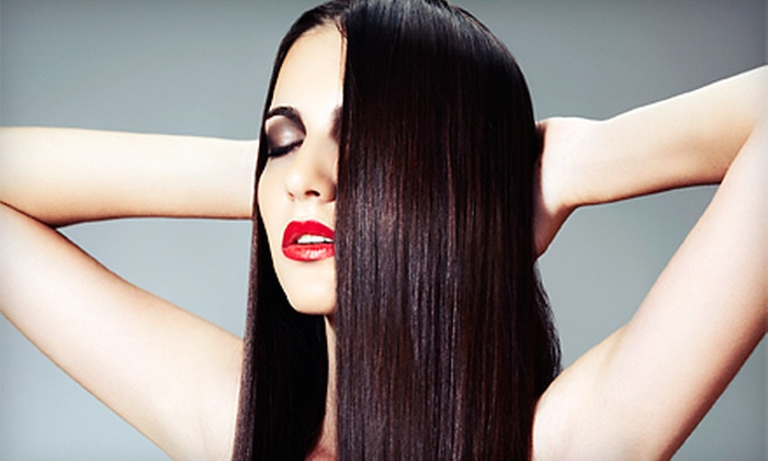 Chiara Salon - Elmwood Park: One or Two La-Brasiliana Keratin Treatments at Chiara Salon (Up to 69% Off)