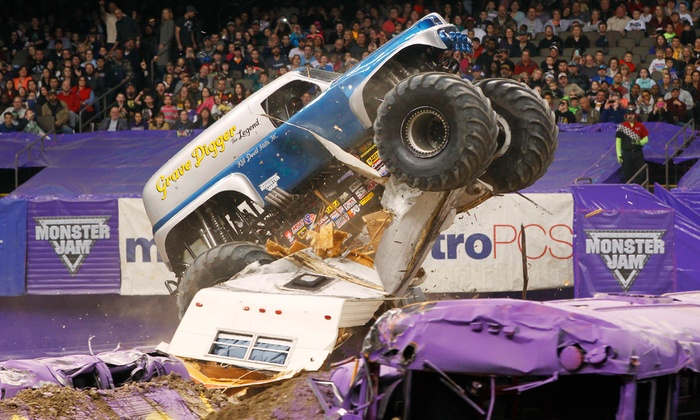 Monster Jam - Gillette Stadium: One Ticket Plus One Pit Pass to Monster Jam at Gillette Stadium on Saturday, June 20, at 7 p.m. (Half Off)