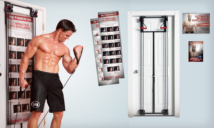 Body By Jake Tower 200 Home Gym: $75 for a Body By Jake Tower 200 Home Gym ($259.99 List Price). Free Shipping and Free Returns.