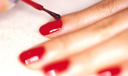 One Classic Mani-Pedi or One or Two Gel Manicures at Nails by Ashley at Salon Bella Vita (Up to 51% Off)