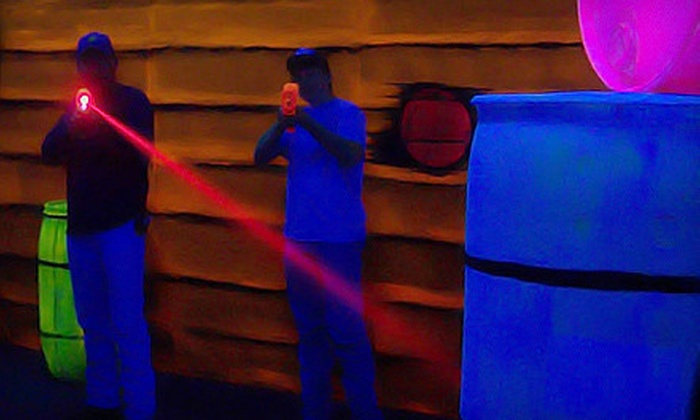 Dave's Need 4 Speed - Lubbock: $10 for Three Rounds of Laser Tag, Cosmic Golf, or Go-Karts at Dave's Need 4 Speed ($21 Value)