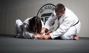 RŌl Academy Of Jiu Jitsu: Four Weeks of Unlimited Brazilian Jiu-Jitsu Classes at ROL Academy (72% Off)