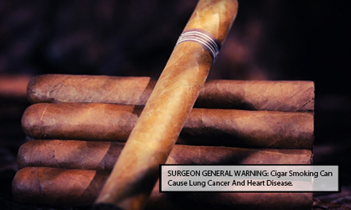 Tinder Box - Amherst: $17.50 for a Cigar 101 Class with Cigars and Accessories at Tinder Box ($35 Value)