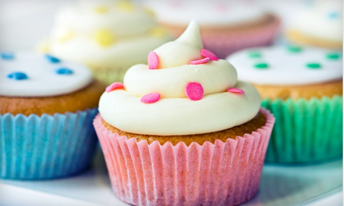 Miss Priss Cupcakes & Such - Lakewood Village: One or Two Dozen Regular Cupcakes at Miss Priss Cupcakes & Such (Up to Half Off)