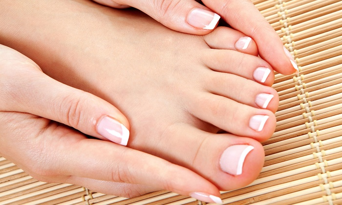 Peace Nails & Spa - Morristown: Manicure and an Aloe-Mint Spa Pedicure or a Gel Manicure and Limonata Spa Pedicure at Peace Nails & Spa (Up to 61% Off)