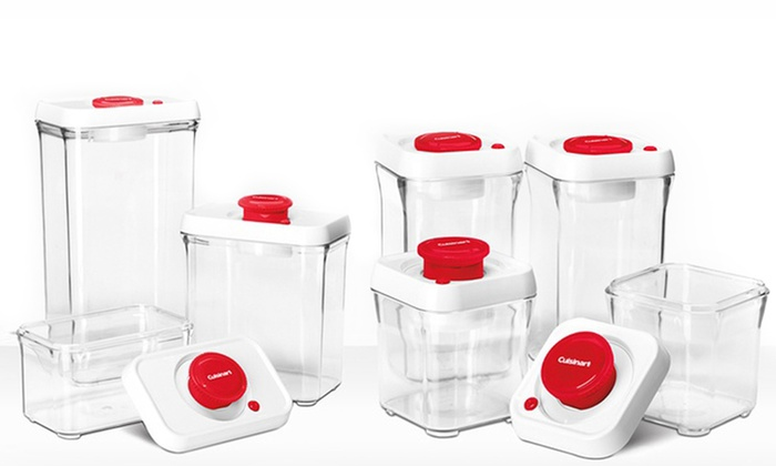 Cuisinart Food Storage Set 14 Piece Groupon