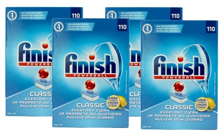 $74 for 440 Tablets of Finish Classic Powerball Lemon Sparkle (Don't Pay $147.80)