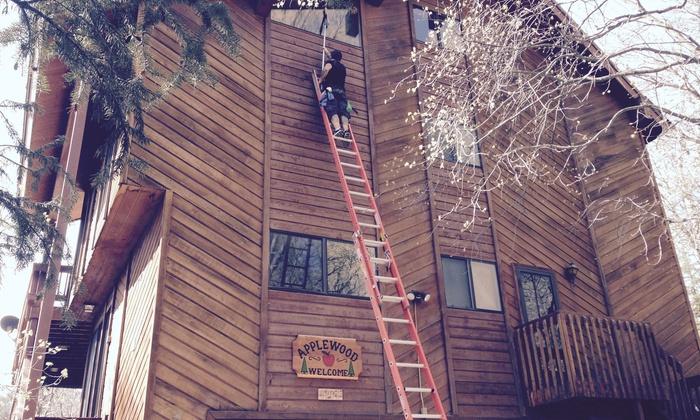 Neighborhood Window Cleaning - Salt Lake City: Up to Four Hours of Window Cleaning from neighborhood window cleaning (55% Off)