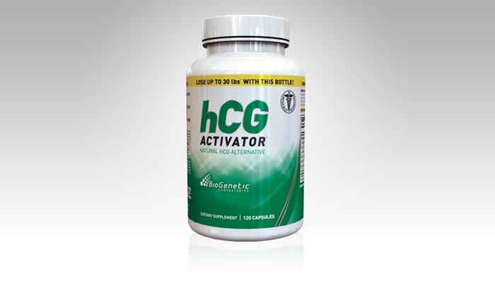 120-Capsule Bottle of Biogenetic Laboratories HCG Activator Supplements