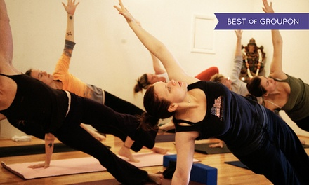 10 or 20 Yoga Classes at Rising Lotus Yoga (Up to 71% Off)