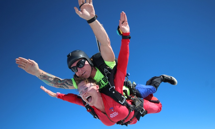 Skydive Spaceland - Atlanta - Rockmart: Tandem Skydiving for One or Two with Optional HD Video/Photos at Skydive Spaceland (Up to 38%Off)