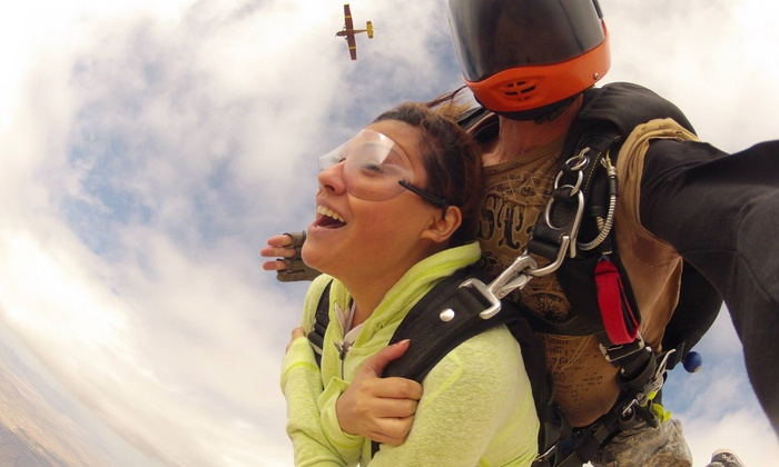 Phoenix Area Skydiving - Colonia Del Sol: $139 for a Tandem-Skydiving Adventure with T-Shirt at Phoenix Area Skydiving (Up to $324 Value)