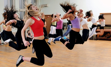 10 or 20 Dance-Fitness Classes at Salon De Baile Dance Studio (Up to 45% Off)