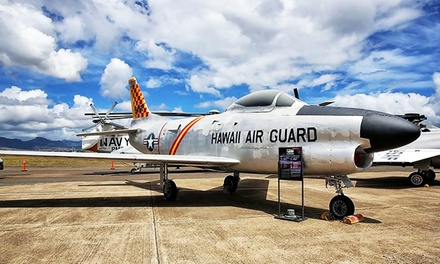 Visits to Pacific Aviation Museum Pearl Harbor (Up to 69% Off). Four Options Available.