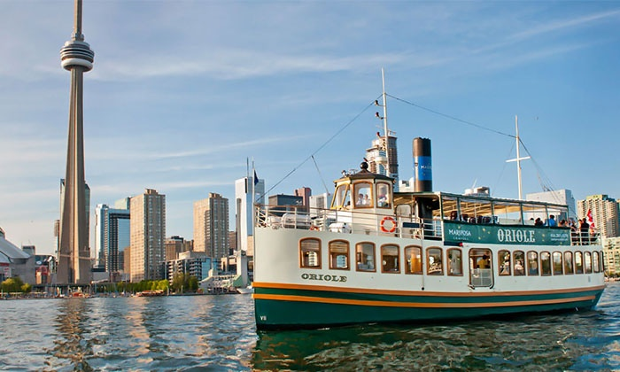 Mariposa Cruises - Toronto Waterfront:  45-Minute Harbour Tour for One or Two from Mariposa Cruises (Up to 48% Value)