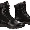 Men's Waterproof Duty Boots with Side Zipper