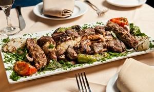 Arabian Nights Restaurant: Mediterranean Cuisine at Arabian Nights Restaurant (Up to 40% Off). Two Options Available.