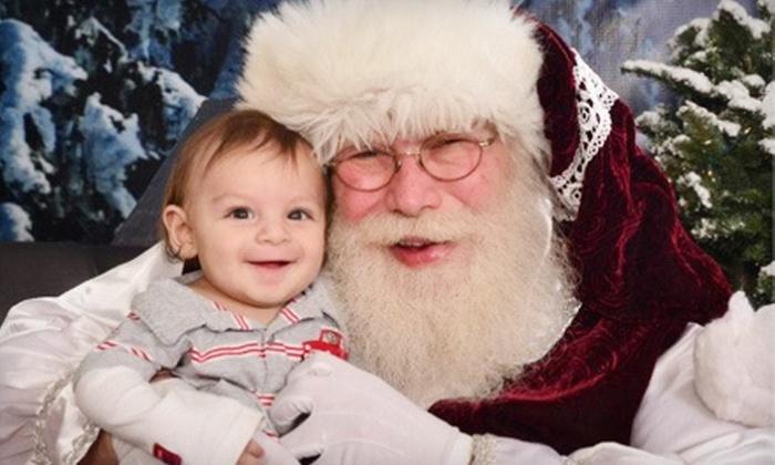 Santa at River Park - Woodward Park: $49 for a Professional Santa Photo Session Package at River Park ($114 Value)