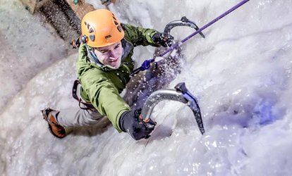 image for Introductory Ice Climbing Session for One or Two at Vertical Chill Manchester (Up to 36% Off)