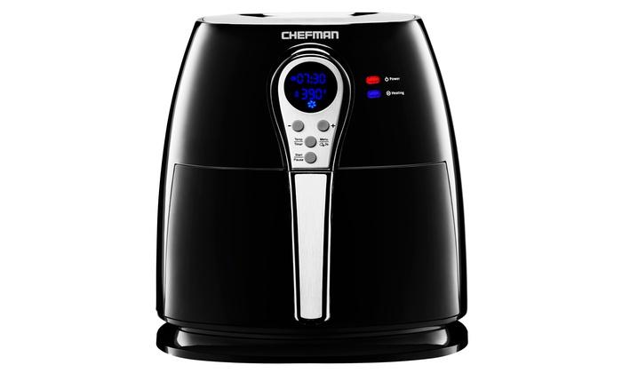 Chefman Digital Air Fryer Livingsocial