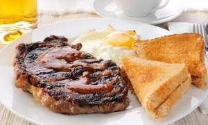 McGarry's Pub & Restaurant: Weekend Brunch with Three Drinks Each for Two or Four People at McGarry's Pub & Restaurant (Up to 65% Off)
