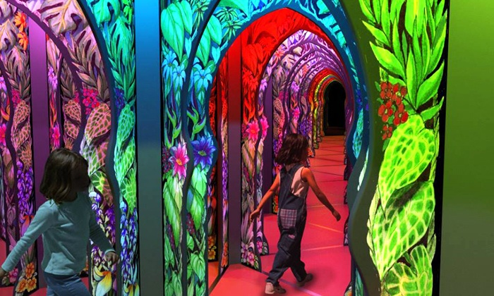 OdySea Mirror Maze - Scottsdale: Two, Four, or Six Mirror Maze All-Day Passes or Birthday Package at Odysea Mirror Maze (Up to 75% Off)