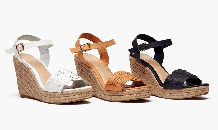 Sociology Women's Huarache Wedges | Groupon Exclusive